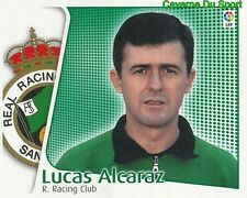 LUCAS ALCARAZ ESPANA RACING SANTANDER CROMO STICKER LIGA ESTE 2005 PANINI