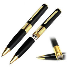 Gold Spy Video Camera Pen Manual and Charging cable **superfast delivery**