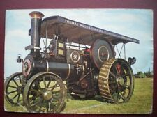 POSTCARD RP ROAD TAM' BURRELL GENERAL PURPOSE TRACTION ENGINE