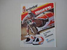 advertising Pubblicità 1990 CASCO BIEFFE CHESTERFIELD SCOUT