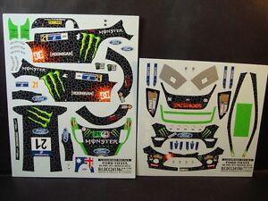 DECALS 1/24 FORD FIESTA RS WRC - #21 - ATKINSON - MEXICO 2012 - COLORADO  24138