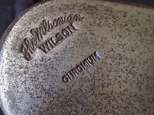Wilson The Wilsonian Chromium Mashie Aim Rite Iron/Putter Hickory Shaft Vintage