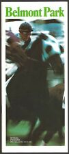 SECRETARIAT IN 1973 BELMONT STAKES HORSE RACING PROGRAM! MINT CONDITION!