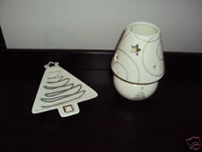 snowlit settings candy dish tea light holder holidays