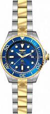 Invicta hombres Pro Diver Automático 300m dos tonos reloj acero inoxidable 27613