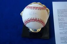 MARK McGWIRE AUTOGRAPHED BASEBALL WITH JSA CERT