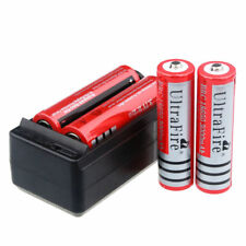 UltraFire 3000mAh 18650 Battery 3.7v Li-ion Rechargeable Batteries + Charger