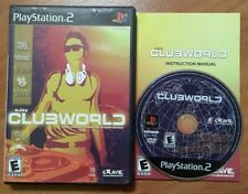 eJay Clubworld Sony PlayStation 2 PS2 MINT Disc Complete CIB VERY Fast Ship!!!
