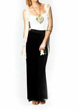 JERSEY LONG MAXI SKIRT NEW WOMENS LADIES GYPSY STRETCHY SKIRT SIZE 8 - 14 jrskt
