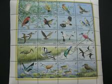 Gambia 1990 birds  sheetlet SCOTT No.970  I201807