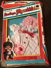 VINTAGE MONCHHICHI OUTFIT CLOTHES UNUSED MATTEL Good Night Doll Sleep Clothes
