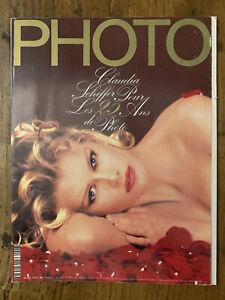 PHOTO n° 296 Oct 1992 - Claudia SCHIFFER David HAMILTON GIACOBETTI OMMER BAILEY