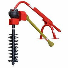 """Post Hole Digger & 9"""" AUGER Cat1 for 60HP Tractor Part No.: RPHD50-9"""