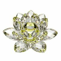 """5"""" Mothers Day Special Delicate Decorative Crystal Lotus Flower - Great Gift!"""
