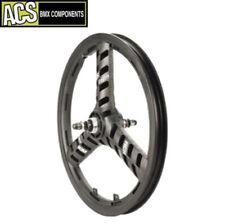 BMX Wheel ACS Sellar-Mag 3 Spoke Rear Wheel (Black) Old School BMX