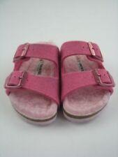 Scarpe sandali stretti rosi per bambine dai 2 ai 16 anni