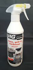 HG Oven Grill Barbecue Cleaner Removes Dried and Baked on Grease 500 ml FREE P&P