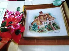 CROSS STITCH CHARTS LILLIPUT LANE GOLDEN YEARS COUNTRY COTTAGE  CHART ONLY