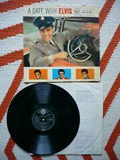 Elvis Presley A Date With Elvis Vinyl UK 1959 RCA 1st Press RD 27128 Unblanked