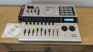 Zoom HD8 Digital Multi Track Recording Studio with CD Burner / MINT / LOOK
