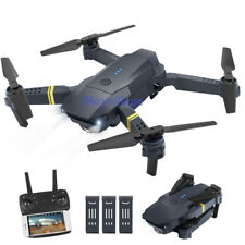Cooligg Camera Drone Aircraft Quadcopter Toys Selfie FPV HD Wide Angle Foldable