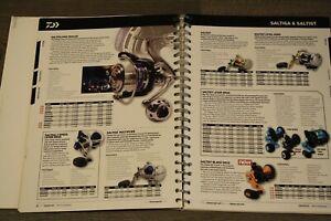Daiwa Angelgerätekatalog England 2012  Saltiga,Tournament, Infinity 120 Seiten