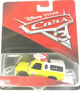Disney Pixar Cars 3 Todd Pizza Planet Truck Mattel Toy Story Diecast 1:55 Scale