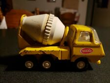 VINTAGE MINI TONKA CEMENT MIXER TRUCK PRESSED STEEL TOY