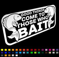 CARP FISHING BAIT VINYL DECAL STICKER EXTERNAL ANGLING STICKER CAR VAN WINDOW