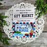 DECO Fridge Magnet PEPERE Gift  All Grandparent  Relatives Decorative Greetings