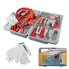 Roadside Emergency Assistance Toolkit - 31 Pieces Car Repair Tool Kit W/gloves
