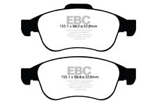 EBC Greenstuff Front Brake Pads for Dacia Duster 1.2 Turbo (2013 on)
