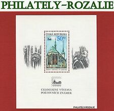 Czech Republic stamps sheet  2000 ( The church of St. Jacob in Brno 10 )
