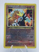 1999 Holo Entei Pokemon Card Wizards of the Coast - Black Star Promos -Free Ship