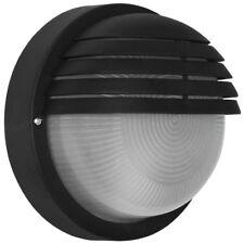 Außenwandleuchte  Außenlampe Wandlampe mit Gitter schwarz IP44 D=190mm Triartis