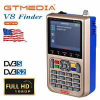 3.5in LCD Display Data Digital Signal Finder Meter with Protective Bag//Car Charger 950MHz-2150MHz ICQUANZX WS6906 Satellite Finder