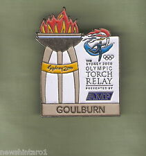 GOULBURN  2000 OLYMPIC AMP TORCH RELAY PIN
