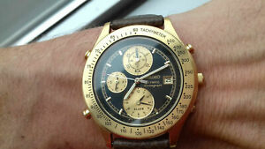 Seiko 7T42-7A5A CHRONOGRAPH OLYMPIC WATCH RARE VINTAGE NOS WATCH MONTRE 90's UHR