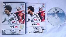 JUEGO COMPLETO FIFA 09 2009 ELECTRONIC ARTS EA PC ORDENADOR PAL ESPAÑA
