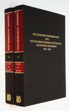 Die geheimentagesberichte der deutschen Wehrmachtführung im Zweiten Weltkrieg,