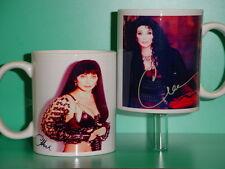 CHER - with 2 Photos - Designer Collectible GIFT Mug