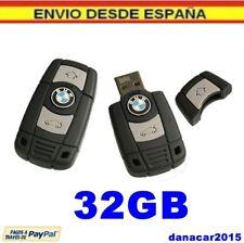 PEN DRIVE PENDRIVE DE UNA LLAVE DE COCHE BMW 32GB 32 GB MEMORIA USB (4 8 16 64)