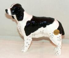 John Beswick Animal Figure English Springer Spaniel Black & White JBD80