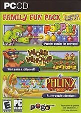 Pogo.com Family Fun Pack: Poppit! To Go / Word Whomp to Go / Phlinx to Go