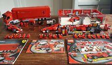 Lego Ferrari 8144 8673 8654 racers incl all figuren