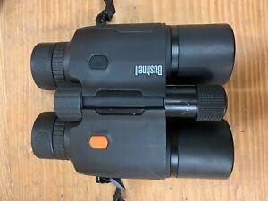 Bushnell Fusion 1 Mile Laser Rangefinder Binoculars 10x42