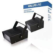 VALUELINE LED STROBOSCOPIO (crea un effetto discoteca in qualsiasi stanza/velocità regolabile)