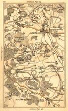 Dartford. crayford, bexley, sutton à affûter, Farningham, wilmington, swanley carte de 1786
