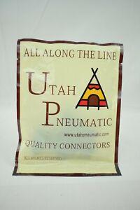 Utah Pneumatic - 5 Pcs Air Fittings Push Valve Kit (Various) - New in Package