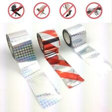 Bird Tape Holographic Design Repellent Double-Sided Reflective Scarecrow Ribbon